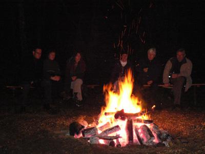 Feuer - nur im Winter